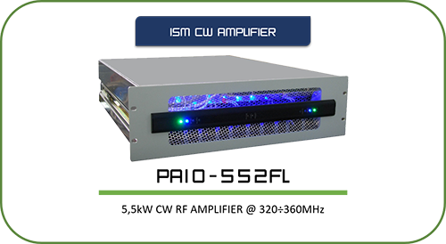 ISM Amplifiers||Click to see the page with all products