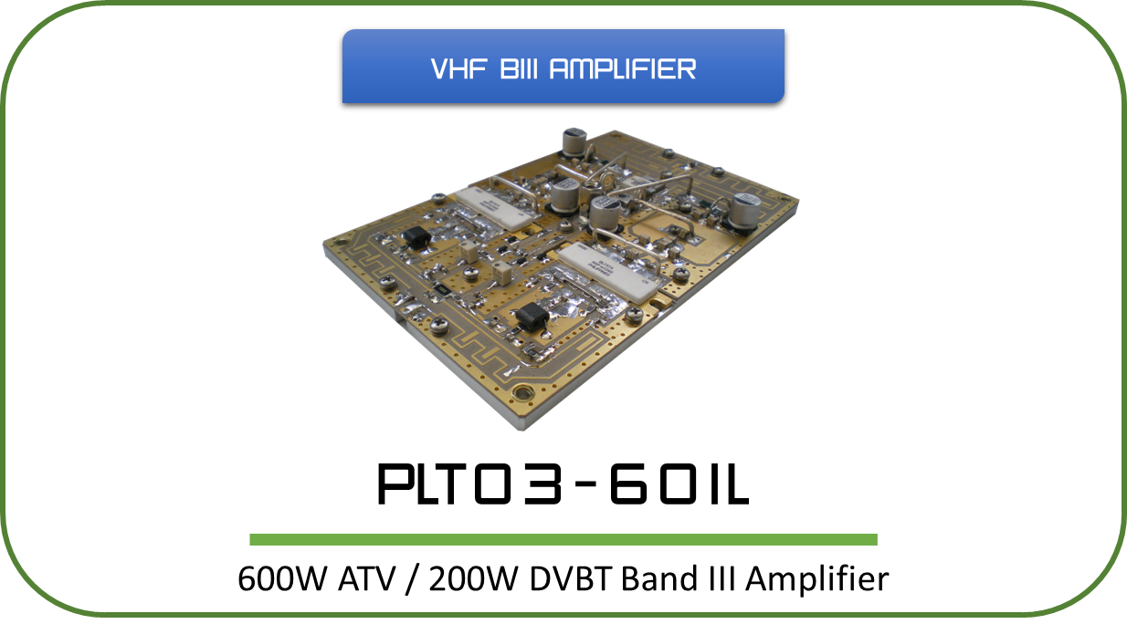 Pallets 15w Vhf Amplifier Designed For Analog And Digital Tv Transmitters Transposers This Rf Incorporates Simple Design Based On Microstrip Stripline Technology